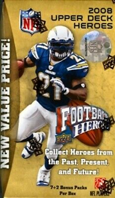 2008 Upper Deck Football Heroes Cards (Complete Your Set)