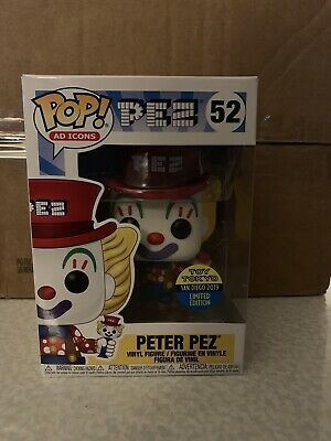 Peter PEZ Toy Tokyo SDCC 2019 Exclusive Funko Pop! New In Box #52