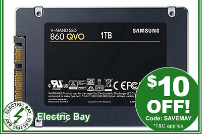"1TB Samsung 860 QVO SSD 2.5"" SATA Internal Solid State Drive Laptop Replacement"