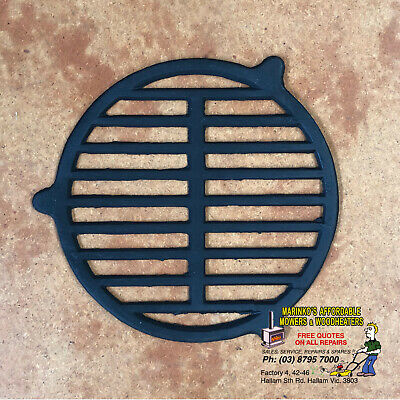 CAST IRON FIRE GRATE Holds Wood Logs in POT BELLY STOVE 220mm Brand New