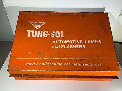 Vintage Wagner Tung-Sol Store Display Advertising Auto Lamps And Flashers