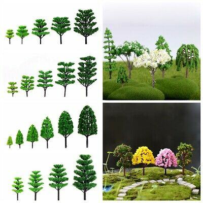 Mini Tree Miniature Dolls' House Garden Bonsai Plant Fairy Ornament DIY Decor