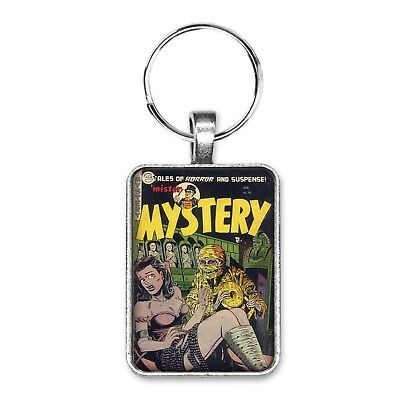 Mister Mystery #16 Cover Key Ring or Necklace Classic Vintage Comic Book