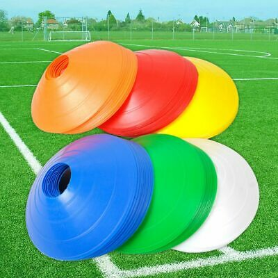 10Pcs Field Marking Marker Disc Cones Soccer Football Training Sports Saucer