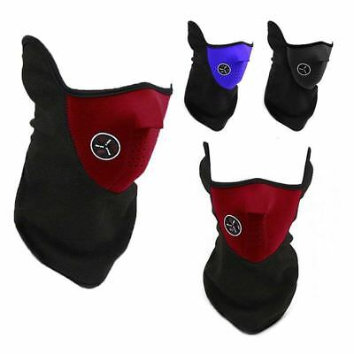 Winter Fleece Warm Face Mask Fishing Cycling Bike Thermal Neck Tube Warmer Scarf