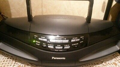 Panasonic RX-ED77 Boombox CD Player FM/AM/LW  Receiver.