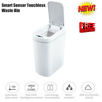 Portable Touch Free Motion Sensor Automatic Touchless Trash Can Kitchen Office