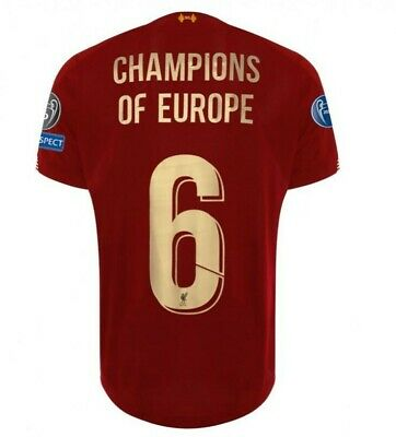 LIVERPOOL FC ***CHAMPIONS OF EUROPE*** 2019 Special Edition - (BNWT) - All Sizes