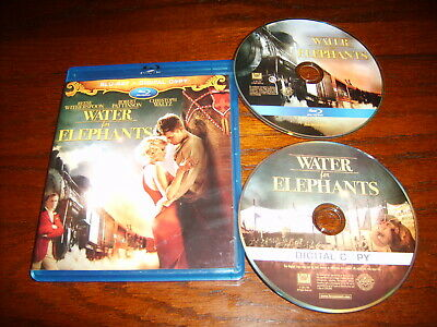 Water For Elephants (Blu-Ray,2011,Ws)~Reese Witherspoon~Robert Pattinson