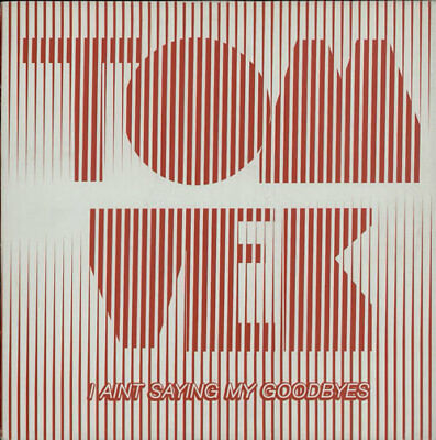 "Tom Vek I Ain't Saying My Goodbyes UK 12"" vinyl single record (Maxi) 9870675"