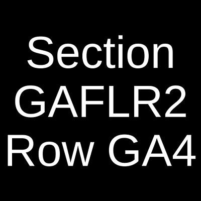 4 Tickets Five Finger Death Punch, Three Days Grace & Bad Wolves 11/2/19