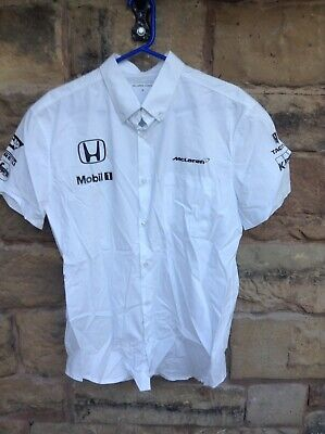 Brand New F1 Mclaren Honda 2018 Team Shirt White Medium