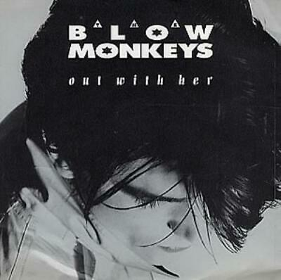 """Blow Monkeys Out With her UK 7"""" vinyl single record MONK5 RCA 1987"""
