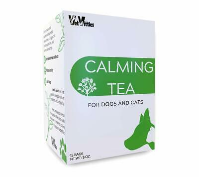 VetVittles Calming Tea - Herbal Supplement for Dogs and Cats