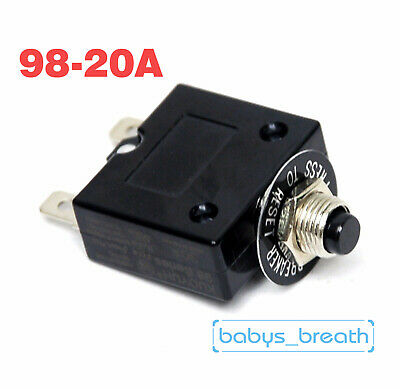Thermal Overload Circuit Breaker KUOYUH 98 Series 20A 125/250VAC