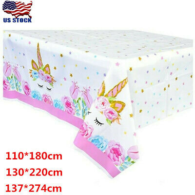 tablecloth disposable party table cover for kids birthday party decor S6EC