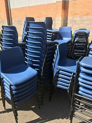 Plastic Stacking Chair (100 Available)