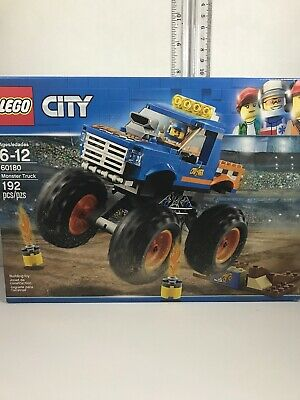 Lego City Monster Truck (192 pieces) #60180 Retired Set New In Sealed condition