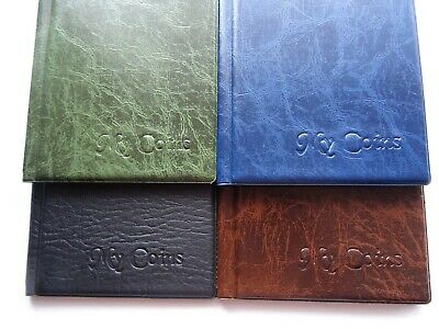 192 Storage Book,Folder,Coin album ( perfect for small coins 3p,6p and other )