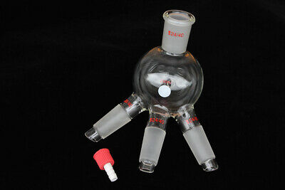 Glass Distillation Receiver 250ml Joints 24/40 for 60 Degree Short Path Head