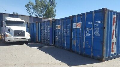 20' CW Shipping Containers, Cargo Worthy, Storage Containers, Sea Trains