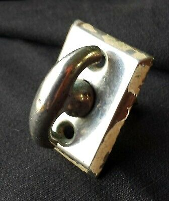 2avail Antique Vintage Chrome Brass Door Thumb Turn Knob Doorknob Lock Key Latch