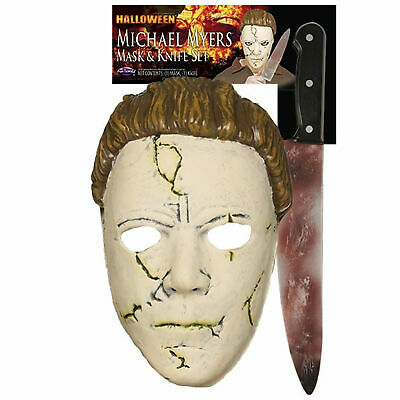 Michael Myers Mask and Knife Set