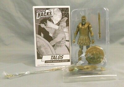 BOSS FIGHT STUDIOS VITRUVIAN HACKS TALOS BRONZE WARRIOR EXCLUSIVE FIGURE SEALED