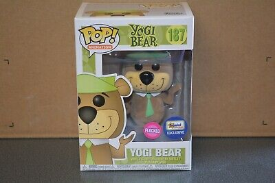 Funko Pop Vinyl Animation 187 Yogi Bear (Flocked) Excl to Gemini Collectibles