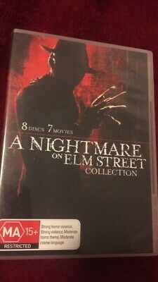 Nightmare On Elm Street - Collection (DVD, 2011, 8-Disc Set)