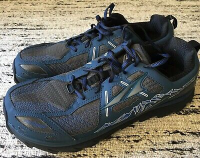 huge discount 70261 579ee ALTRA MENS LONE Peak 3.5 Blue Size 14 Trail Running Shoes Hiking Zero Drop