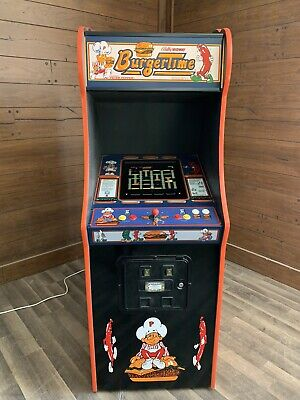 New Burger Time Arcade Machine, Upgraded 412 Games
