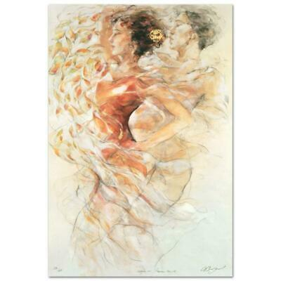 """GARY BENFIELD /""""VIRTUOSA/"""" Hand Signed Limited Edition Serigraph Art"""