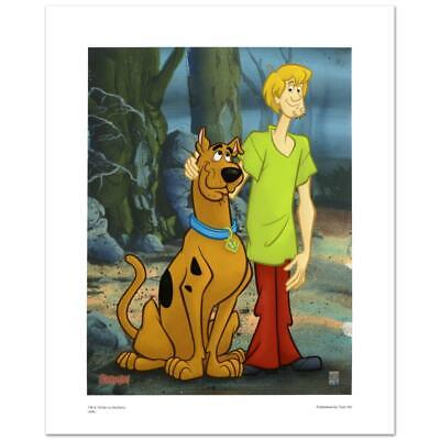 """Hanna-Barbera """"Scooby & Shaggy Standing"""" Scooby Doo Limited Edition Giclee"""