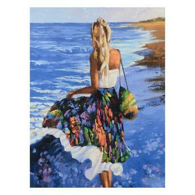 """Howard Behrens """"My Beloved, By The Sea"""" Limited Edition On Canvas; COA"""