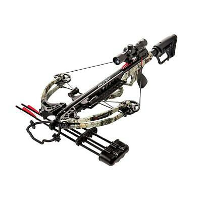 Karnage Apocalypse Crossbow Package Includes Arrows, Quiver, Detachable...