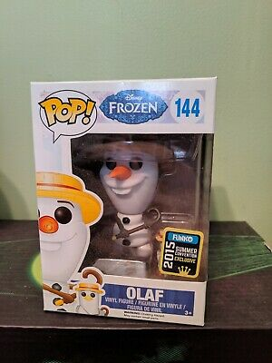 Funko Pop Figure Disney SDCC Exclusive Olaf Barbershop Convention 2015 Frozen