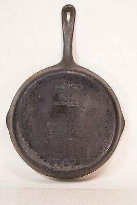 "Wagner Ware 1891 Original Cast Iron Cookware 10.5"" Skillet"