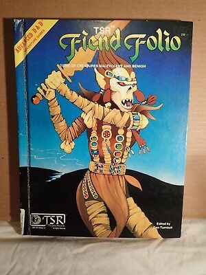 Advanced Dungeons & Dragons Fiend Folio (1981, TSR 2012) 1st ed 1st printing