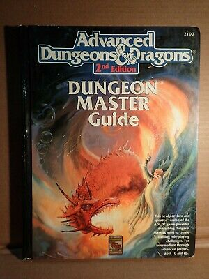Advanced Dungeons & Dragons Dungeon Master's Guide DMG 2ED TSR 2100 Display copy