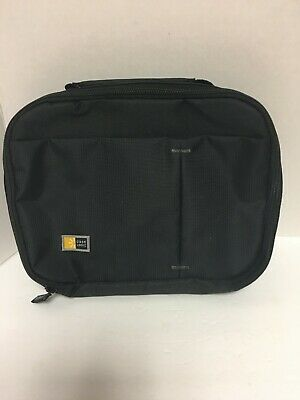 """logic case for dvd player 10"""" Wide X 8"""" Tall X 2"""" thick Black NEW no straps"""