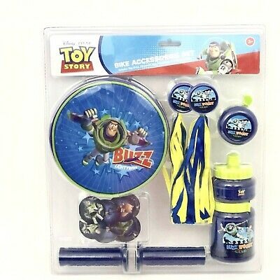 Disney Toy Story Pacific Cycle Bike Accessories Set Blue