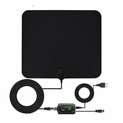 Digital TV Antenna for Indoor - HDTV Antenna with Amplifier Signal Booster for