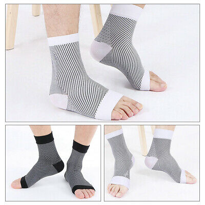 Unisex Ankle Pain Relief Sleeve Socks Running Elastic Compression Relieves Pain