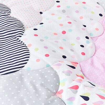 ADAIRS KIDS Cloud COT (JNR BED) QUILTED Quilt COVER SET BNIP spots pink/purple