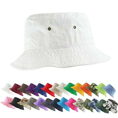Womens Mens Unisex Spring Summer Year Round Casual Packable Pastel Bucket Hat
