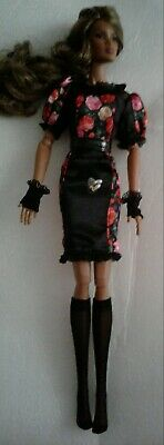 Barbie Fiorela Silkstone Doll Outfit Fits Fashion Royalty And Similar Size Dolls