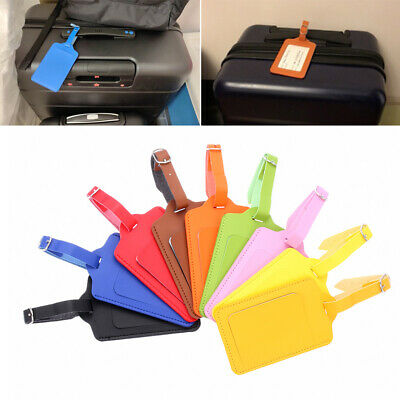 Travel Supplies ID Address Tags Baggage Claim Luggage Tag Suitcase Label