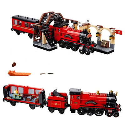 New Harry Potter Series Magic Express Train Compatible 75955 Building Blocks Toy