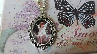 Collar hada angel angeles whale necklace caballo picture pendant necklace